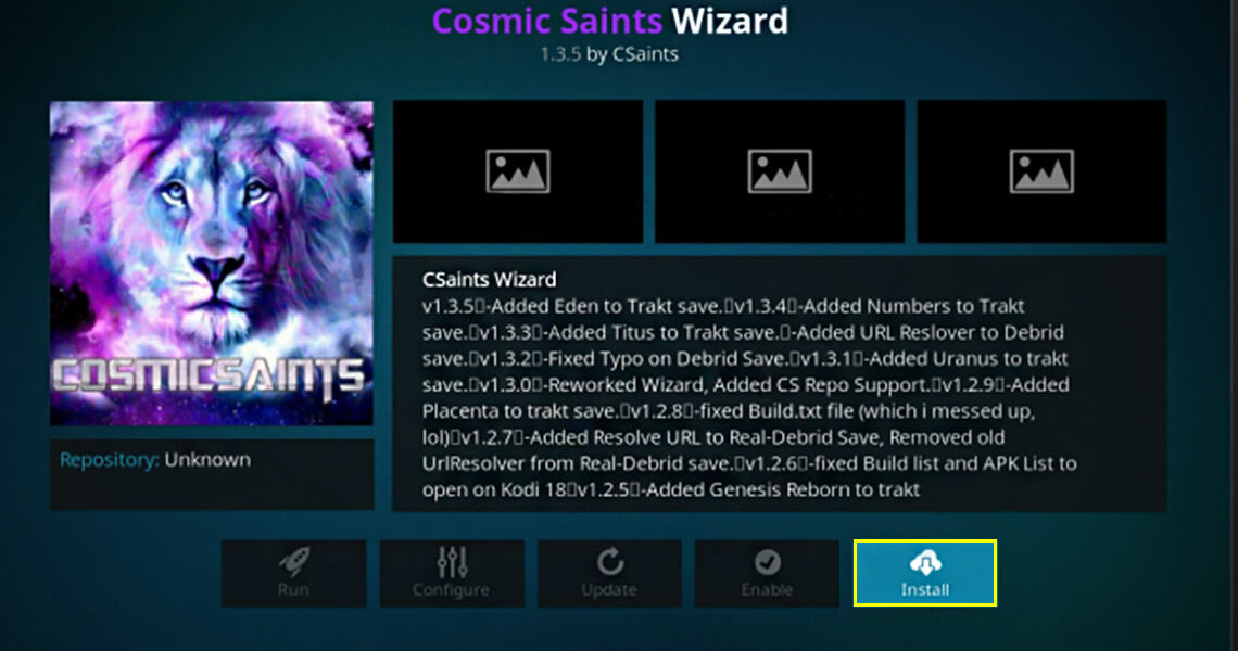Cosmic Saints Wizard