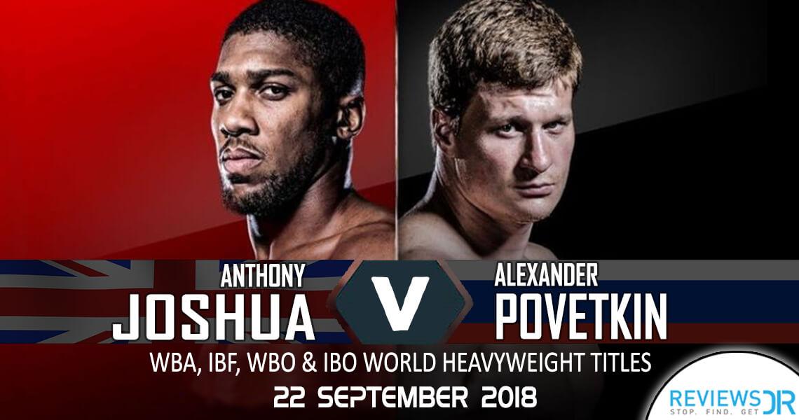 Joshua vs. Povetkin Live Online