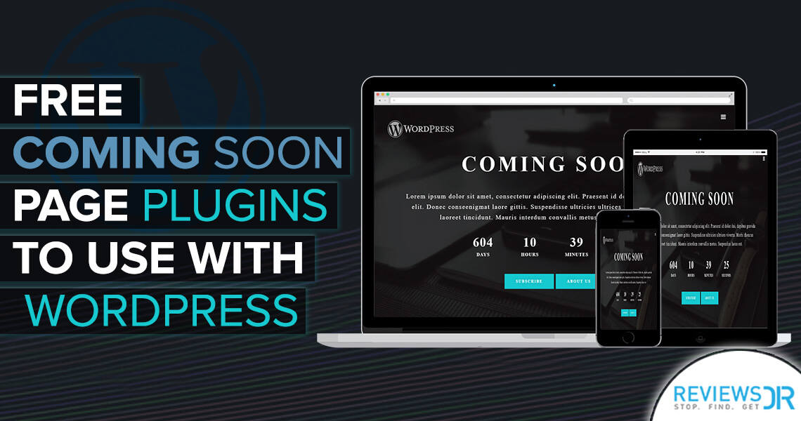 Free Coming Soon Page Plugins To Use With WordPress