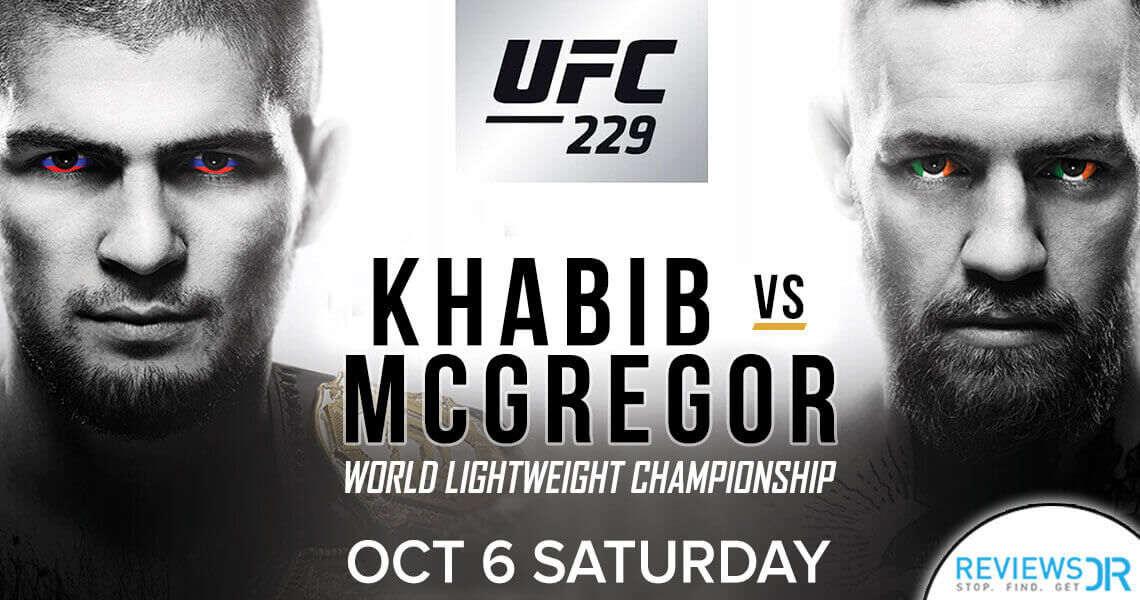 UFC 229 Khabib vs McGregor Live Online