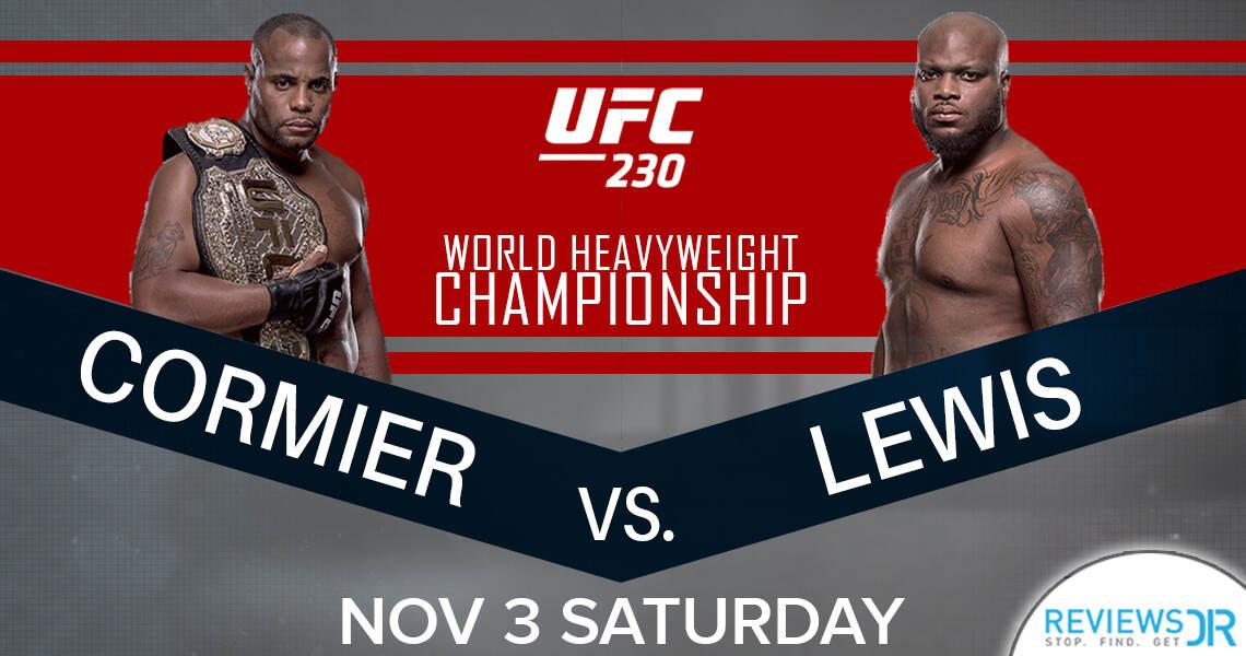 UFC 230 Cormier vs Lewis Live Online