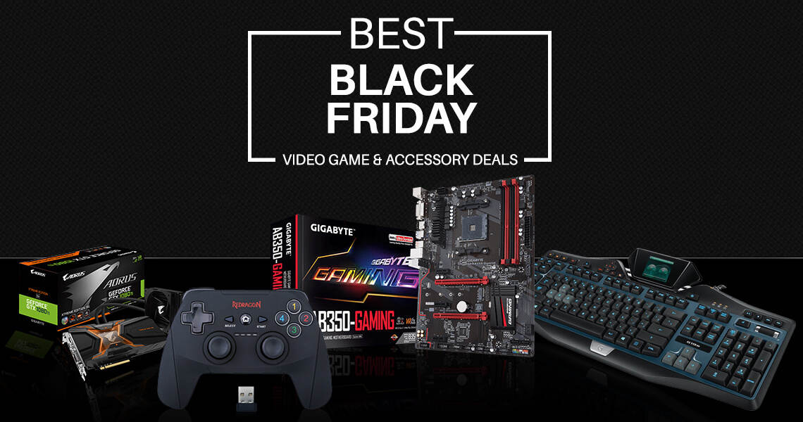 Best Black Frida Video Game & Accessory Deals