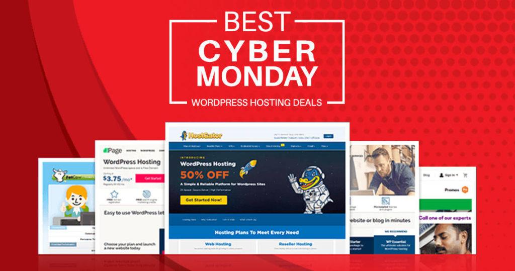 Best Cyber Monday WordPress Hosting Deals