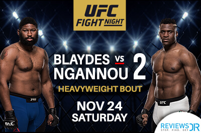 Blaydes vs. Ngannou 2 live streaming