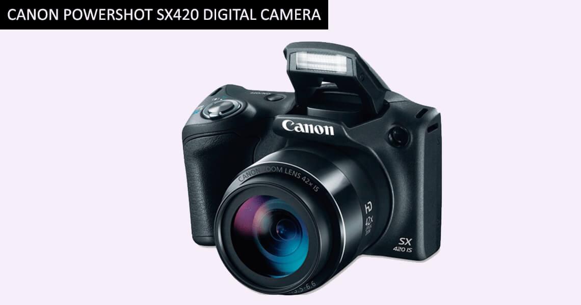 Canon PowerShot SX420 Digital Camera