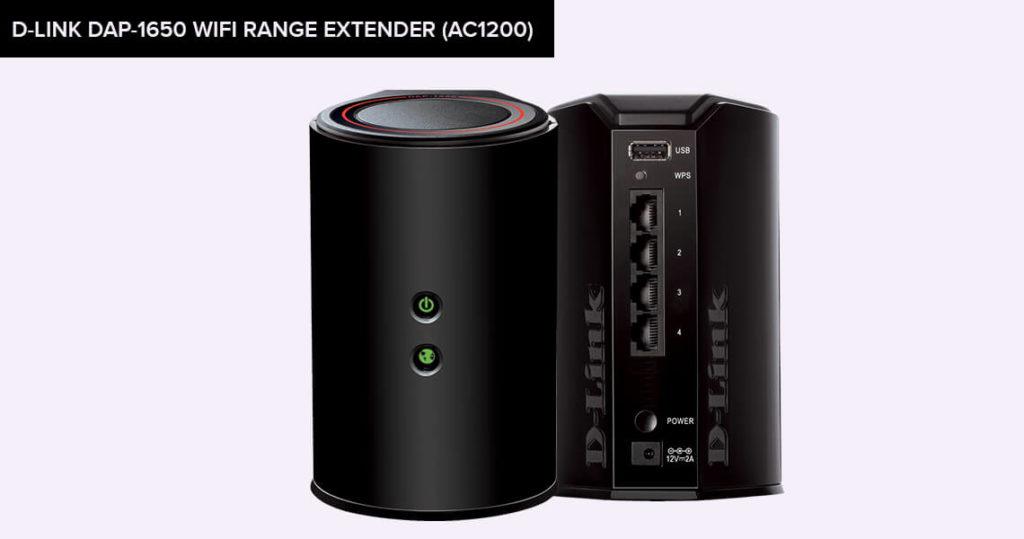 D-Link DAP-1650 WiFi Range Extender (AC1200)