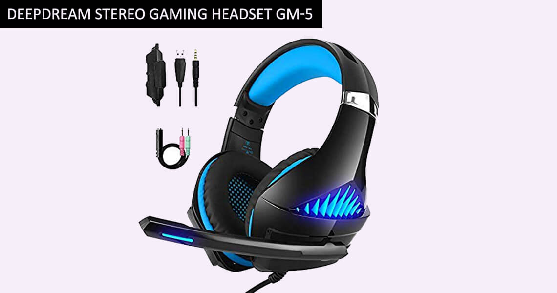 DeepDream Stereo Gaming Headset GM-5