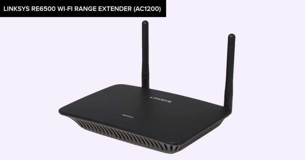Linksys RE6500 Wi-Fi Range Extender (AC1200)