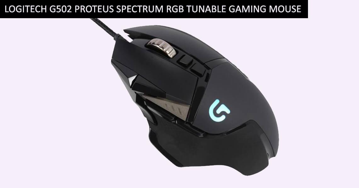Logitech G502 Proteus Spectrum RGB Tunable Gaming Mouse