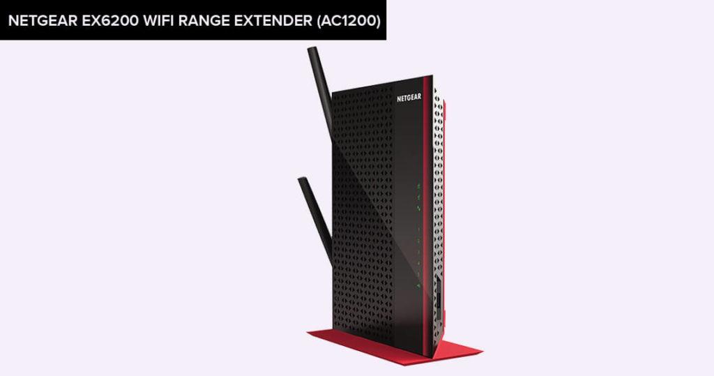 NETGEAR EX6200 WiFi Range Extender (AC1200)
