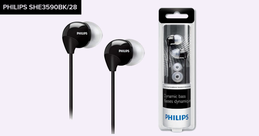 Philips SHE3590BK-28