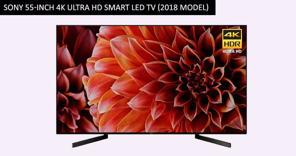 Sony 55-Inch 4K Ultra HD Smart LED TV (2018 Model)