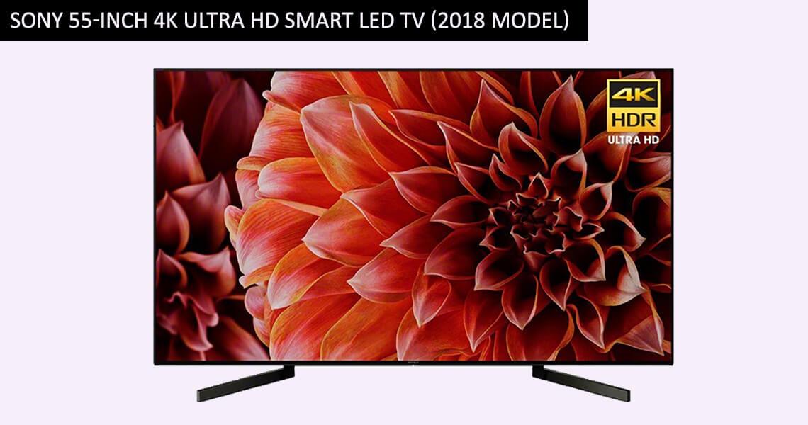 Sony 55-Inch 4K Ultra HD Smart LED TV (2018 Model)