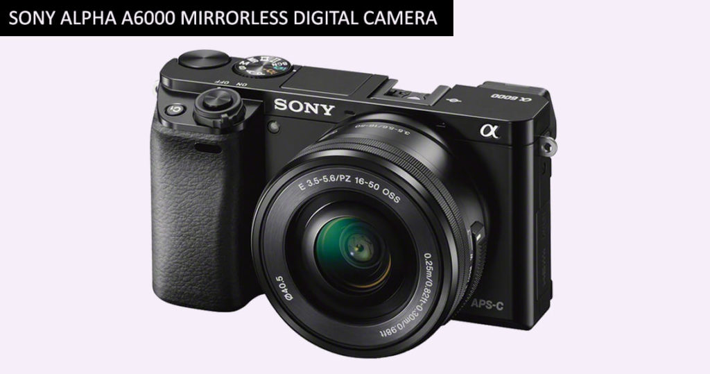 Sony Alpha a6000 Mirrorless Digital Camera
