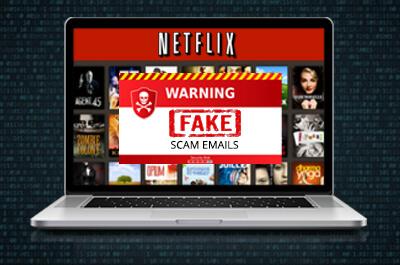 Netflix Fake Scam Email