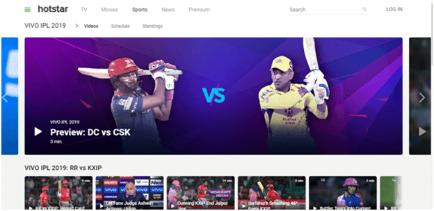 Watch Hotstar IPL Live From Outside India
