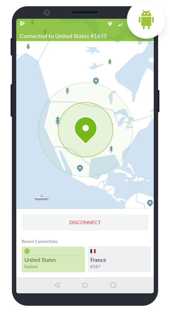 NordVPN Android Application