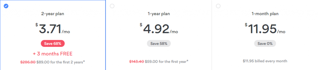 NordVPN Subscription Cost