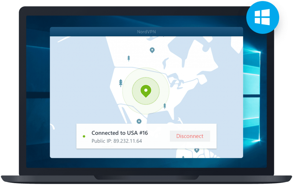 NordVPN Windows Application