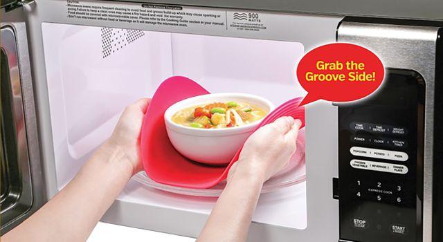 safe grabs microwave