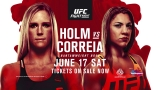 How To Watch UFC Fight Night 111: Holm VS. Correia Online