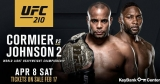 How To Watch UFC 210 Cormier VS Johnson 2 Fight Live Online