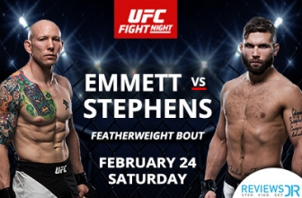 How To Watch UFC On Fox: Emmett vs. Stephens Live Online