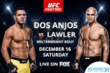 How To Watch UFC On Fox 26: Lawler VS Dos Anjos Live Online