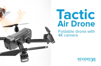 Tactic Air Drone Review 2021: All About the Foldable 4K HD Drone