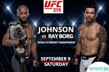 How To Watch UFC 215: Johnson VS Borg Live Online From Anywhere